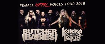 Female Metal Voices Tour 2018