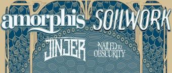 Amorphis&Soilwork European Co-Headliner Tour 2019